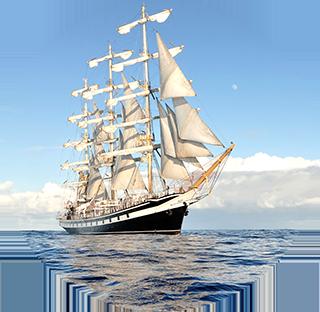 Ocean Sailing Ship